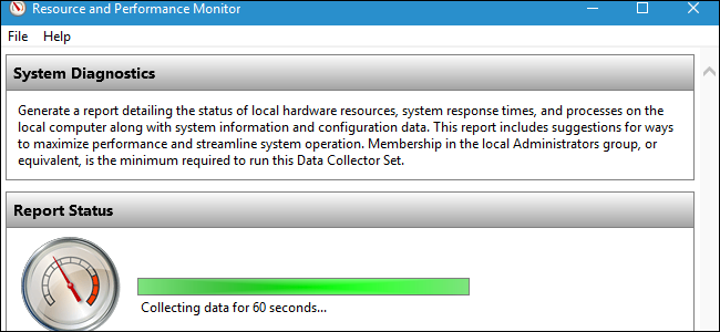 is your pc running smoothly make sure with a system diagnostics report