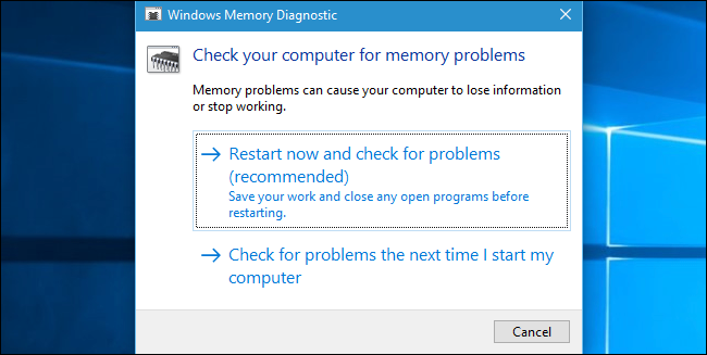How To Test Your Computer S Ram For Problems
