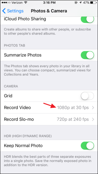 How to Record 4K Video on the iPhone