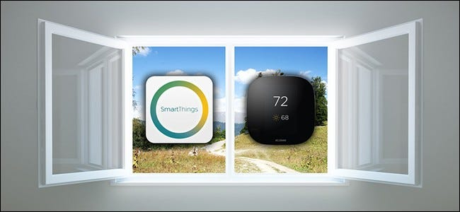 How To Use Smartthings Automatically Turn Off Your Thermostat When You Open A Window
