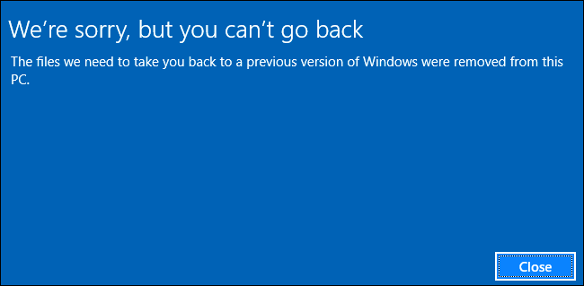 How to Extend Windows 10's 30-Day Limit for Rolling Back to Windows 7 or 8.1 ilicomm Technology Solutions