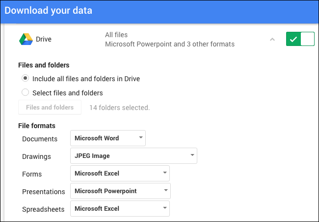 How to convert a google docs document to microsoft office format you can click the arrow to see more detailsby default google takeout will export every single file in google drive and convert all the documents to ccuart Gallery