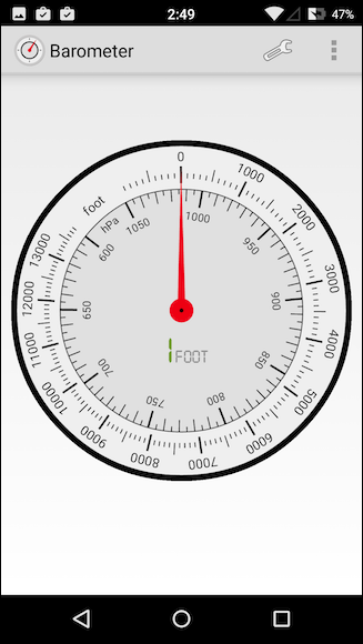 how to use a barometer for hunting