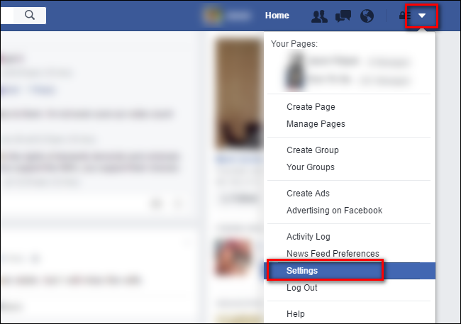 how to turn on facebook notifications to my email