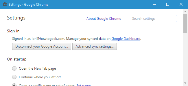 How to Open Google Chrome Settings in a Separate Window