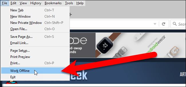 02_selecting_work_offline_in_file_menu