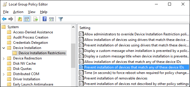 How to Prevent Windows from Automatically Updating Specific Drivers