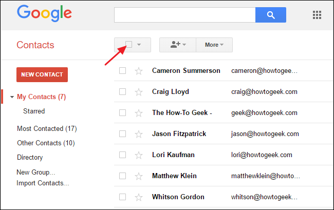 How to Transfer Contacts Between Google Accounts