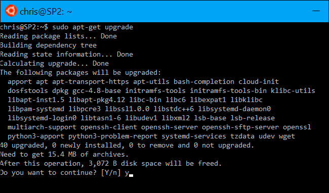 linux patch install command