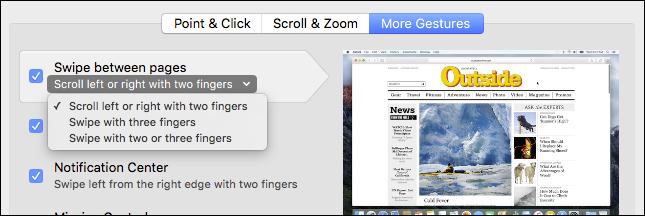 How to Turn Off the Back and Forward Trackpad Gestures on a Mac