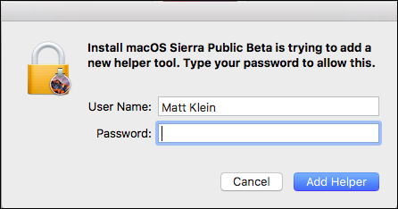 How to Install the macOS Sierra Public Beta ilicomm Technology Solutions
