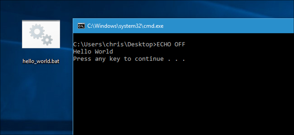how to write scripts in windows