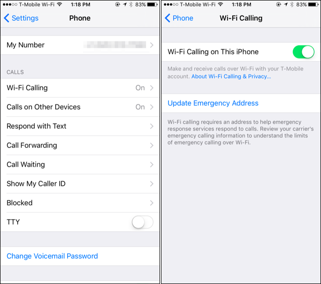 wifi phone calls iphone how to enable wi fi calling on your iphone 16508