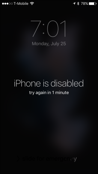 How to Erase Your iOS Device After Too Many Failed Passcode