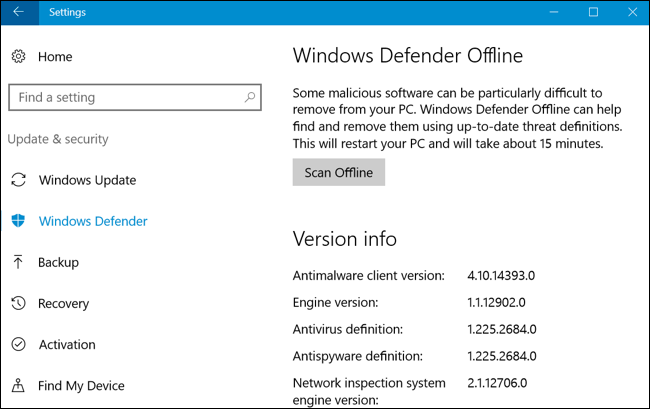 How to Find and Remove Malware With Windows Defender Offline