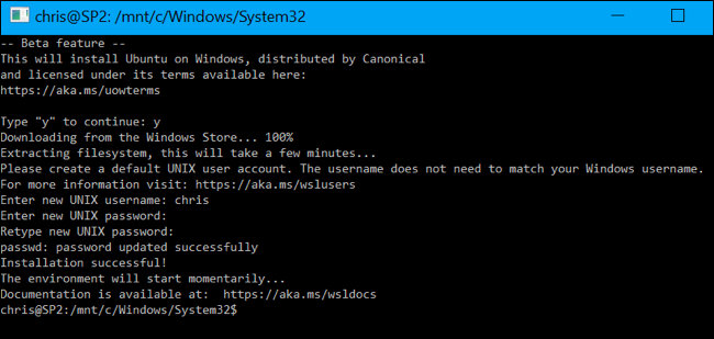 How to Change Your User Account in Windows 10's Ubuntu Bash Shell ilicomm Technology Solutions