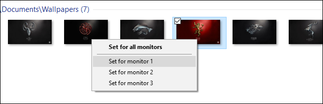 How To Set A Different Wallpaper On Each Monitor In Windows
