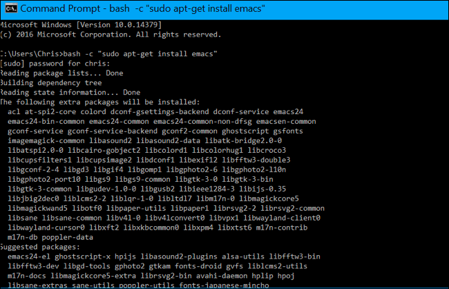 How to Run Linux Commands From Outside the Bash Shell on