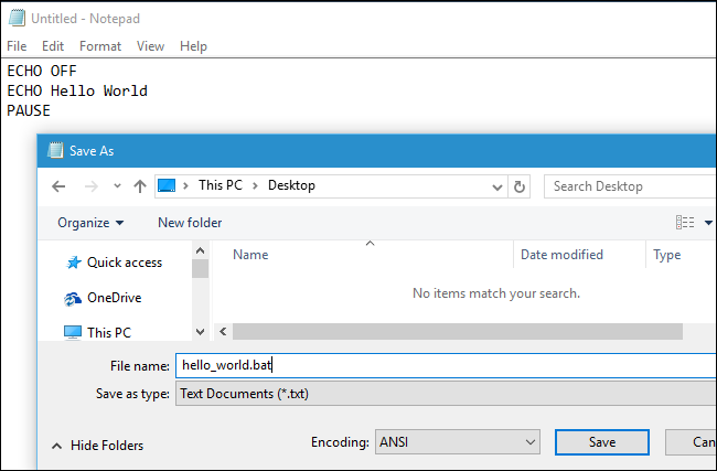 How to Write a Batch Script on Windows ilicomm Technology Solutions