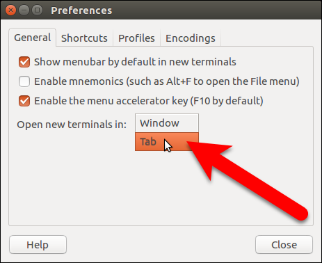 How to Add Tabs to Ubuntu's Terminal