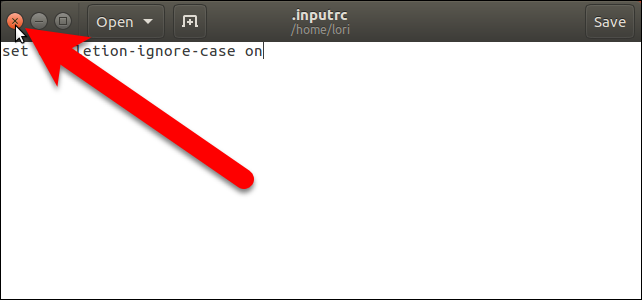 How to Ignore Case When Using Tab Completion in the Linux