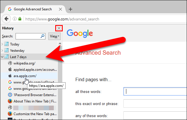 How To Restore Recently Closed Tabs In Chrome Firefox Opera Internet Explorer And Microsoft Edge
