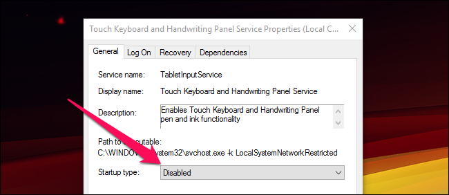 how to stop windows 10 s touch keyboard from appearing at login. Black Bedroom Furniture Sets. Home Design Ideas