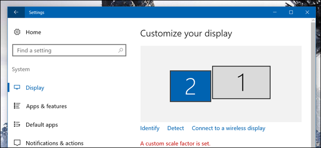 windowsdisplaysettings