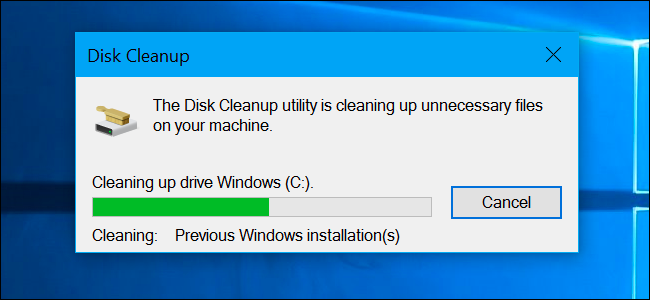 how to use disk cleanup