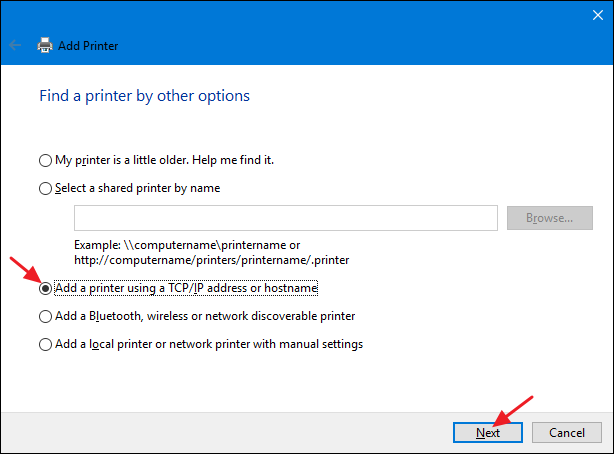 How To Set Up A Shared Network Printer In Windows 7 8 Or 10