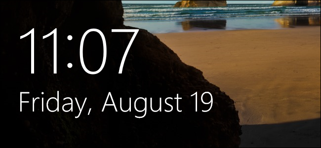 How to Change the Windows 10 Lock Screen Timeout