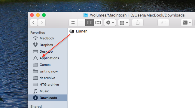 Lumen Automatically Turns Up Your Mac's Brightness While Using Dark