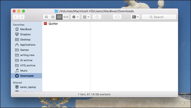 quitter-mac-install