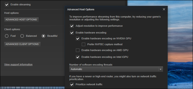How to Get Better Performance from Steam In-Home Streaming