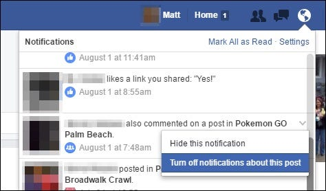 How to Get Notifications for Any Facebook Post Without