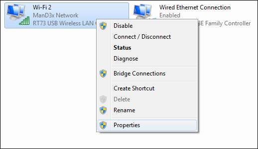 share wifi connection windows 10