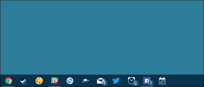How to Hide or Show App Badges on the Windows 10 Taskbar