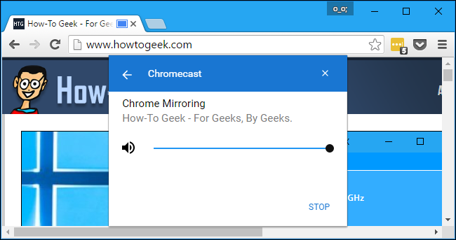 Mirror Your Computer\u0027s Screen on Your TV With Google\u0027s Chromecast