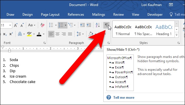 How to Format the Numbers or Bullets in a List in Microsoft Word