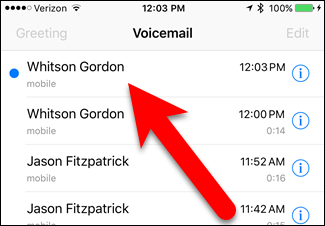 How to make ios 10 transcribe your voicemails into text 01tappingonnewvoicemail m4hsunfo
