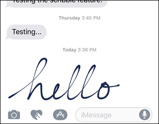 How to Send Handwritten and Digital Touch Messages in iOS 10 ilicomm Technology Solutions