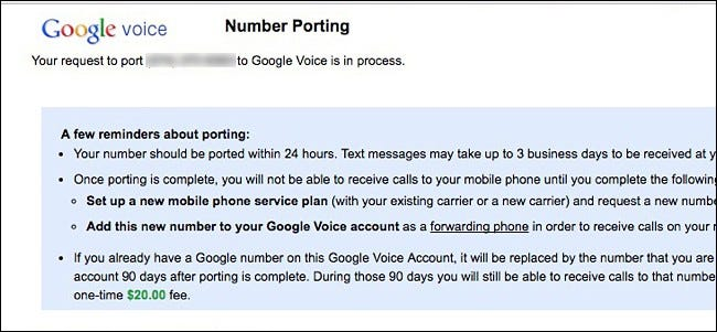 How (and Why) to Port Your Old Phone Number to Google Voice