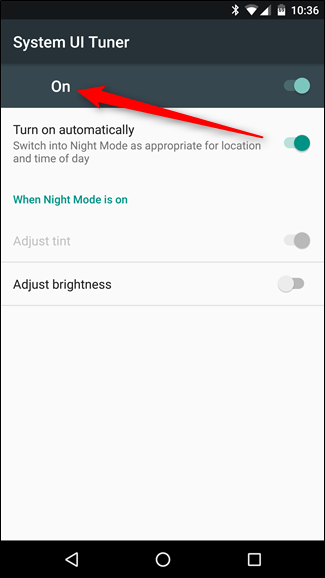 "How to Enable a ""Night Mode"" in Android to Reduce Eyestrain"
