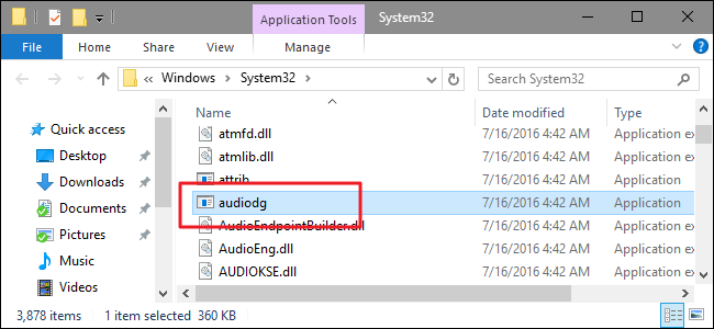 """What Is """"Windows Audio Device Graph Isolation"""" and Why Is It"""