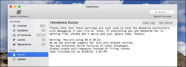 cakebrew-doctor