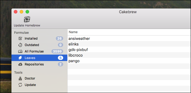 How to Use Cakebrew, the Beautiful Homebrew GUI For Your Mac
