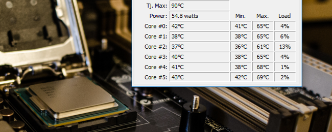 How to Monitor Your Computer's CPU Temperature