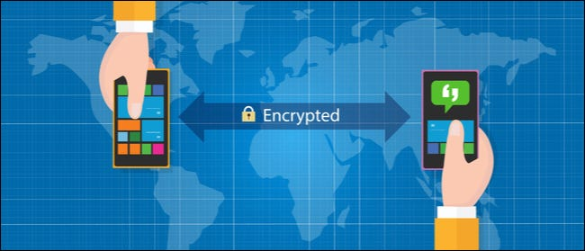 Encryption between devices