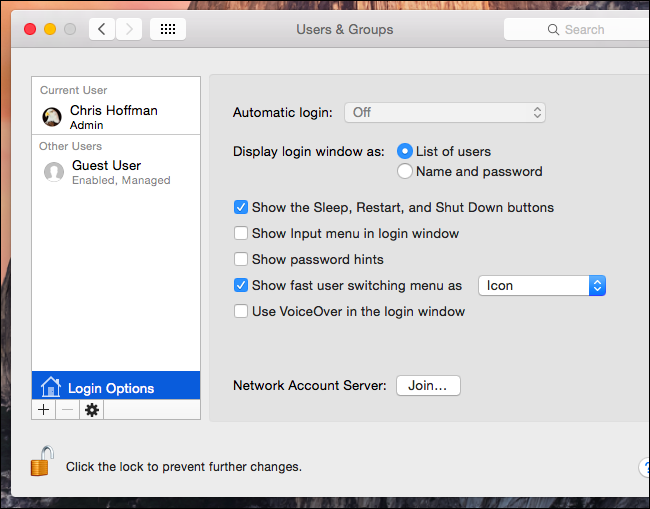 How to Enable Fast User Switching on Mac
