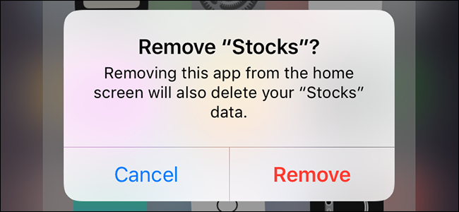 How to Remove Apple's Built-In Apps from Your iOS Home Screen